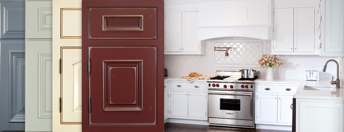 Choose From Dozens Of Painted Finish Combinations Or Create Your Own Custom Color